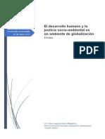 Ensayo- El desarrollo humano y la justicia socio-ambiental