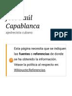 José Raúl Capablanca Citas