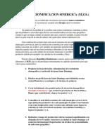 Resumen Ejecutivo Método de Zonificación Sinérgica (MZS)  (Ing. Dario Pons )