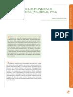 Manifiesto De Los Pioneros De La Educacion Nueva Brasil