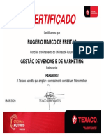 GESTÃO DE VENDAS E DE MARKETING