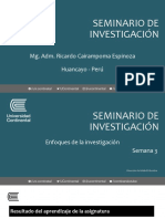 Ricardo Cairampoma - Semana 03 - Enfoque de la investigación