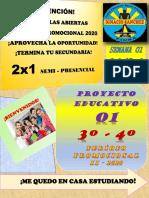 II - PROYECTO 01 - 3º,4º