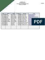 """Taller 1 """"La interfaz de Excel 2016"""""""