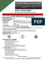 SAFETY DATA SHEET AEROSOL