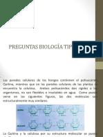BIOLOGIA - PREGUNTAS TIPO UNAL