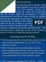 Transistor biasing+chapter 10