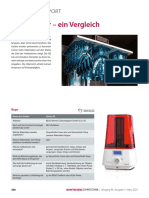 3-D printers - a comparison2020