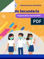 PROGRAMA SEGBASICO IMPRESCINDIBLE PRIMER GRADO SECUNDARIA