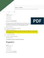 Evaluación 5 Analisis Cuantitativo de Riesgos