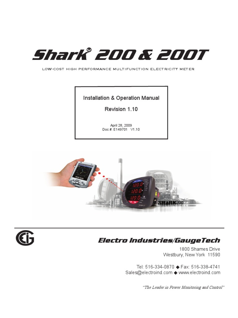 Shark   Ac Power   Kilowatt Hour