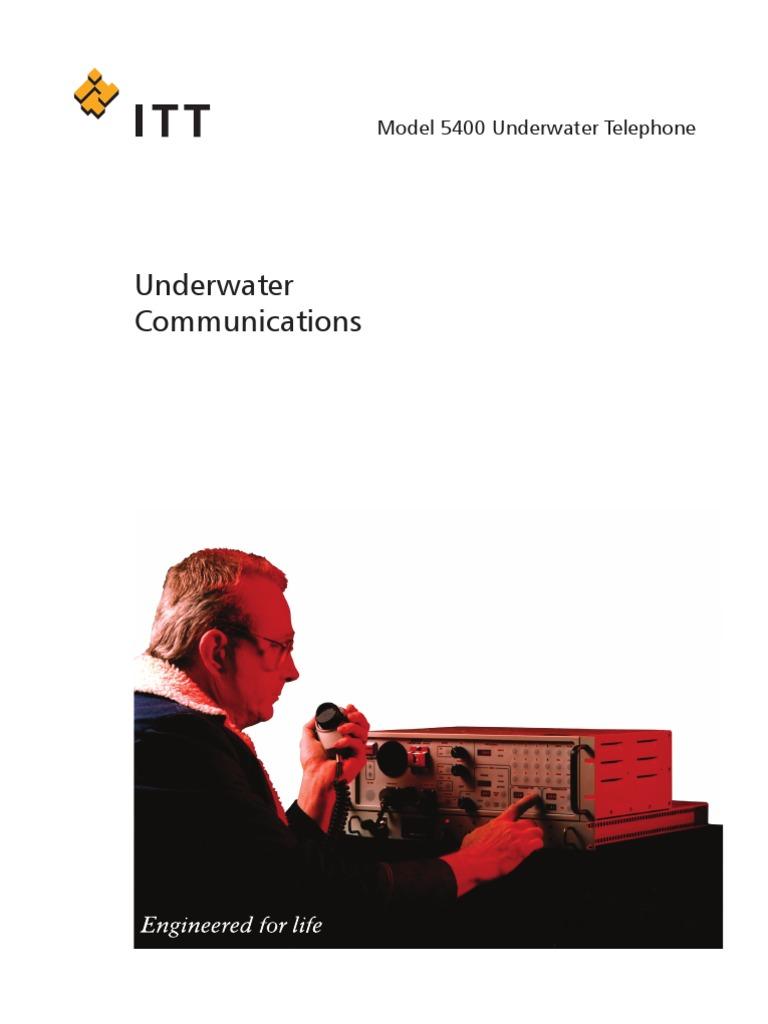 Underwater_Communications | Amplifier | Microphone