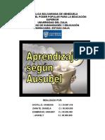 TRABAJO DE APRENDIZAJE SEGUN AUSUBEL (VANESSA)