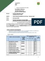 CC.SS 4to y 5to - Informe mensual del actividades realizadas del DOCENTE Aprendo en casa MINEDU DREA