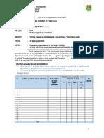 Informe mensual del actividades realizadas del DOCENTE Aprendo en casa MINEDU DREA