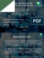 CARTILLA SOBRE PROTOCOLOS DE BIOSEGURIDAD  CLINICA MEDICADIZ