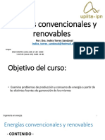 ENERGIAS CONVENCIONALES Y RENOVABLES (1)