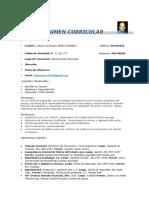CV CARLOS PEREZ