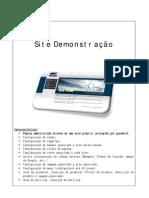 Descrição do produto - Pagina web