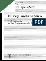Garcia Quintela Marco Virgilio. El Rey Melancolico. Antropología de los fragmentos de Heraclito..pdf