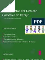 Fundamentos del Derecho Colectivo de trabajo