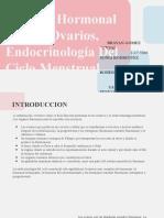 Función Hormonal De Los Ovarios, Endocrinología Del Ciclo Menstrual (1)