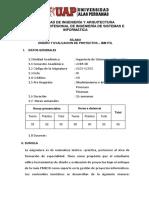 SILABO DISEÑO Y EVALUACIÓN DE PROYECTOS.pdf