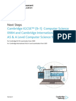Next Steps Computer Science