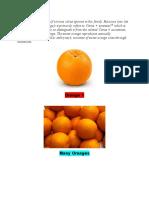 Orange is Orange