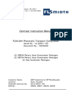 FLSmidth Pneumatic Transport Compressor