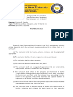 The Enhanced Basic Education Act of 2013 (K to 12)