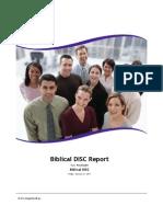 Biblical Report
