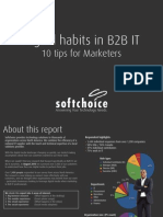 Digital Habits in B2B IT:10 TIps for Marketers