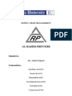 Al Rahim Printers - Supply Chain Management