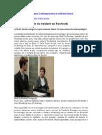 Mutações Antropológicas Contemporâneas e as Redes Sociais