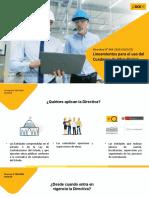 Directiva del cuaderno de obra digital