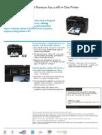 Datasheet impressora HP PRemium