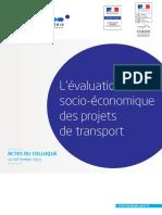 Evaluatioon _socio-economiques_des projets de transport