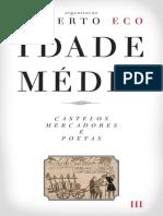 ECO, U. Idade Media III _ Castelos_mercadores_poetas