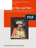 (Journal of Ancient Judaism Supplements 6) Michaela Bauks, Wayne Horowitz, Armin Lange (Hg.) - Between Text and Text_ The Hermeneutics of Intertextuality in Ancient Cultures and Their Afterlife in Med.pdf