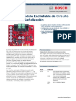 FPE-1000 Módulo Enchufable de Circuito