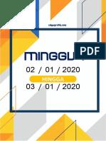PEMBAHAGIAN MINGGU PERSEKOLAHAN 2020 CIKGUGRAFIK V1 KUMPULAN B