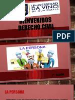 2a. Sesión Derecho Civil