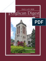 The Anglican Digest - Fall 2020