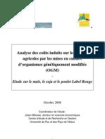 milanesi 08_analyse des couts induits sur les filieres agricoles par les mises en culture d'OGM