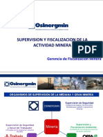 FISCALIZACION MINERA EN LA MEDIANA Y GRAN MINERIA (OSINERGMIN)