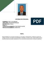 H.V RAUL SALAS