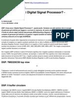 DSP_ Cosa Sono i Digital Signal Processor_ - Quarta Parte