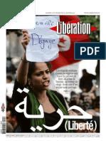 Liberation Sam 15-Dim 16 Janvier 2011