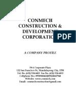 Conmech Company Profile